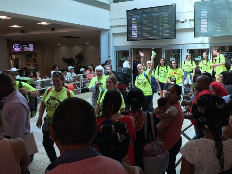 Arrival at Las Americas International Airport