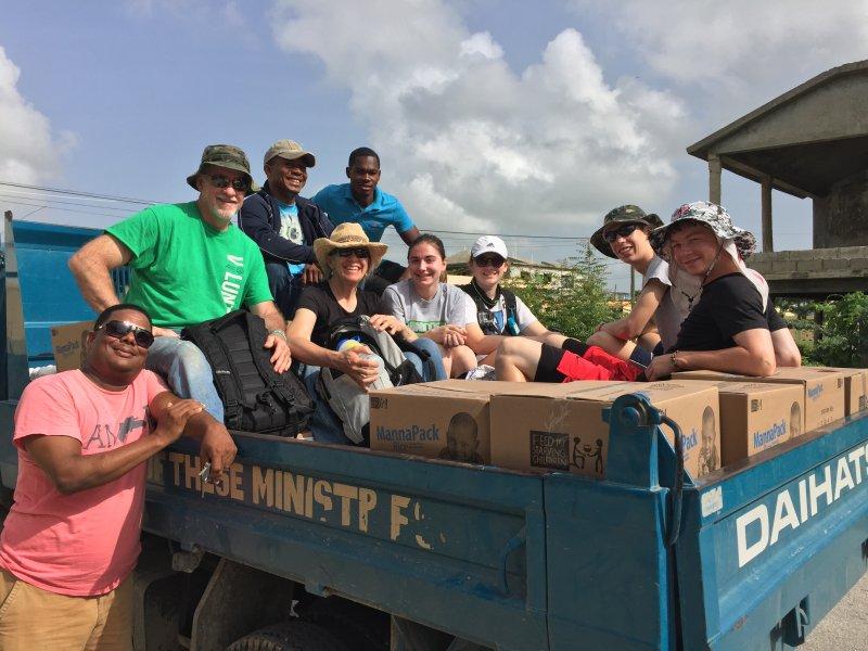 Food distribution crew!