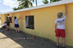 Team painting!