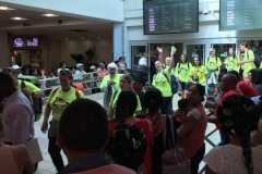 Arrival at Las Americas International Airport