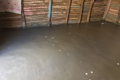 One of the completed floors